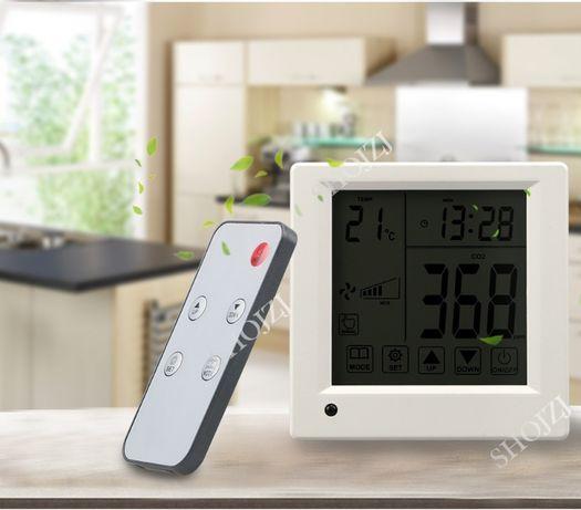 регулятор-контроллер СО2(углекислого газа), датчик температуры