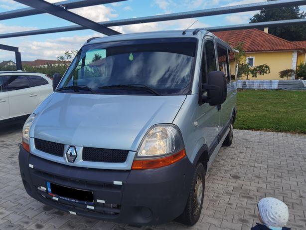 Vand schimb Renault Master 8+1 locuri