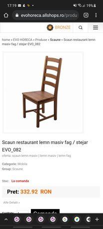 Scaune restaurant lemn masiv