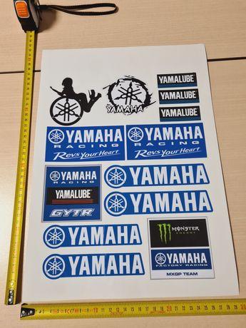 REDUCERE Stickere Yamaha A3 sticker moto honda ninja kawasaki