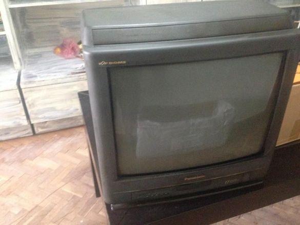 телевизор panasonic tc 21l3r и телевизор НЕО 14 инча и видео SHIVAKI