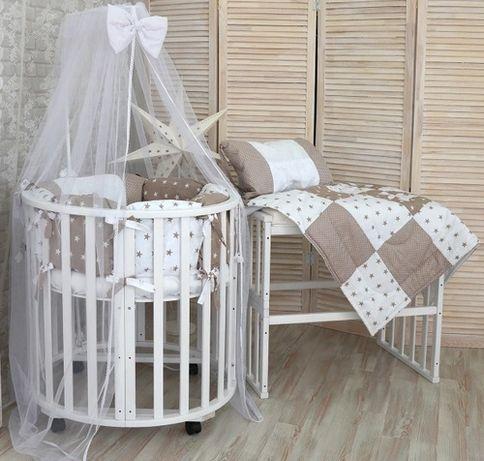 Детская кроватка трансформер 6 в 1