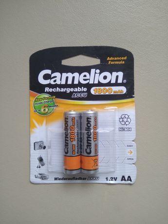 Аккумуляторы тип АА 1,2 вольта 2 шт.1800 mAh( пальчиковые)