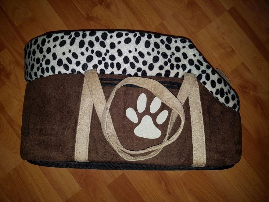Geanta transport animale mici caini pisici Marghita - imagine 1