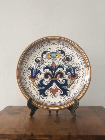 Farfurie decorativa din ceramica Verbena