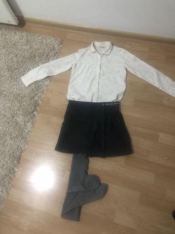 Пола панталон с риза 11-12 г