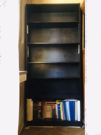 Etajera / Biblioteca Lemn Negru