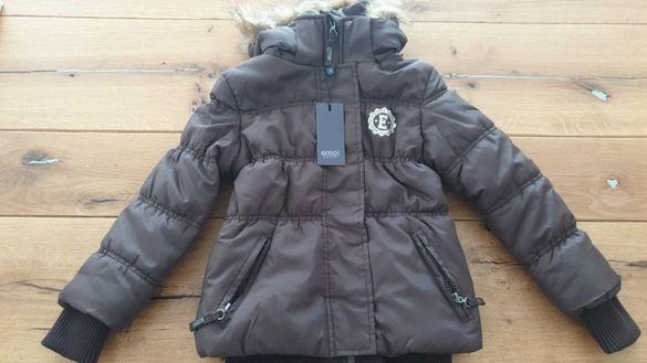 Зимно яке момиче, размери 4-5 години, 5-6 години