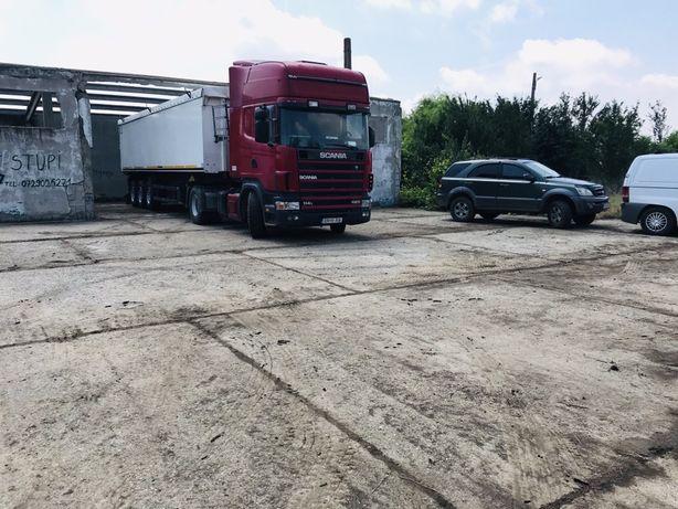 Vand Scania și prelata