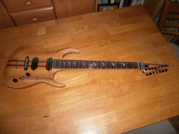 7 струнна китара - кастъм допълнително описание