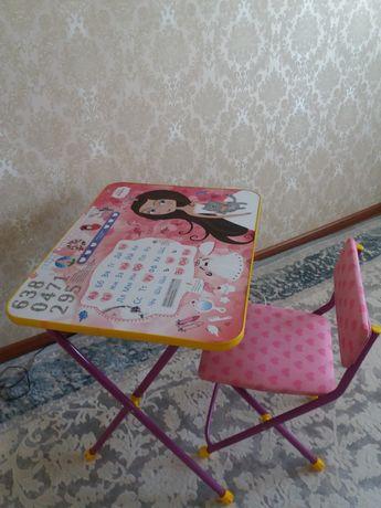 Продается детский стол и стул 5000тг