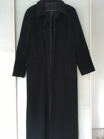 palton de lana, negru