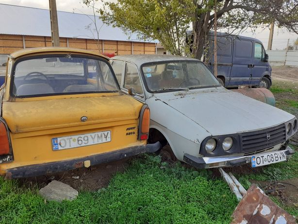 Vand TRABANT si Dacia 1310 pentru piese