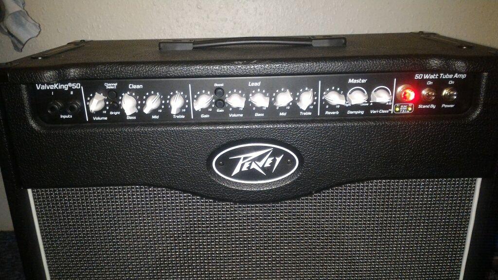 Amplificator chitara tuburi (lampi) Peavey ValveKing II 50W