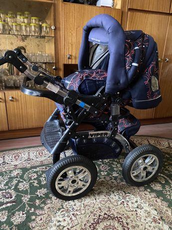 Детская коляска-трансформер RIKO VIPER