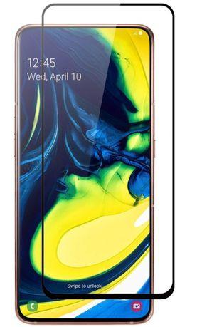 Стъклен протектор Samsung Galaxy A80/90 FullFace версия Black