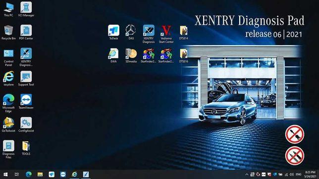 Instalare programe/softuri diagnoza Xentry DAS Vediamo Monaco EPC WIS