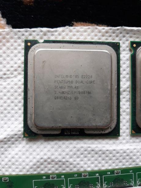 Procesor intel pentium dual core 2,4ghz