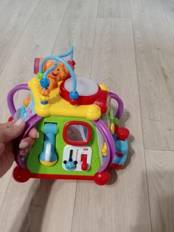 Развивающая игрушка, термо коврик и ванна.