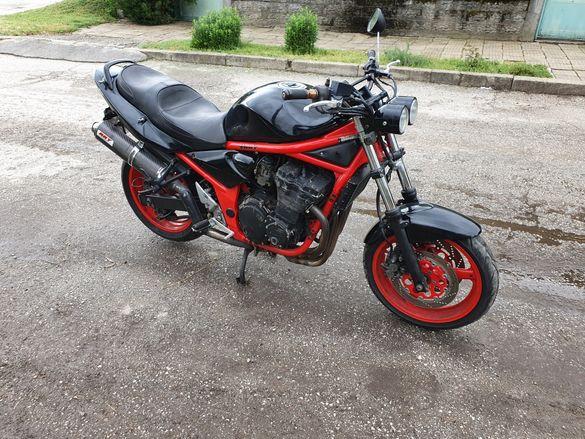 Suzuki bandit 600 на части