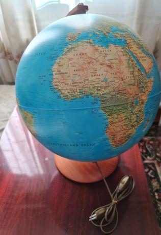 Глобус Nova Rico spa Италия подсветкой физ-полит. отличн. качес 40 см