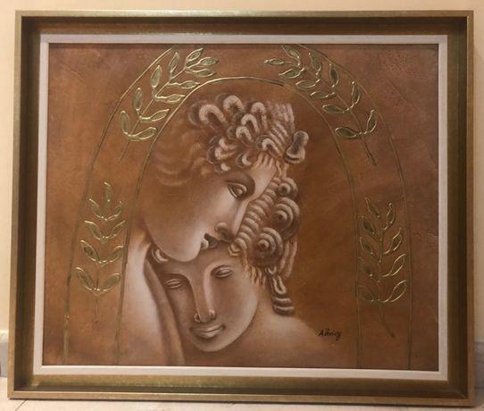 Tablou motive grecesti pictat 3D