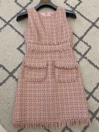 Твидовое платье Chanel
