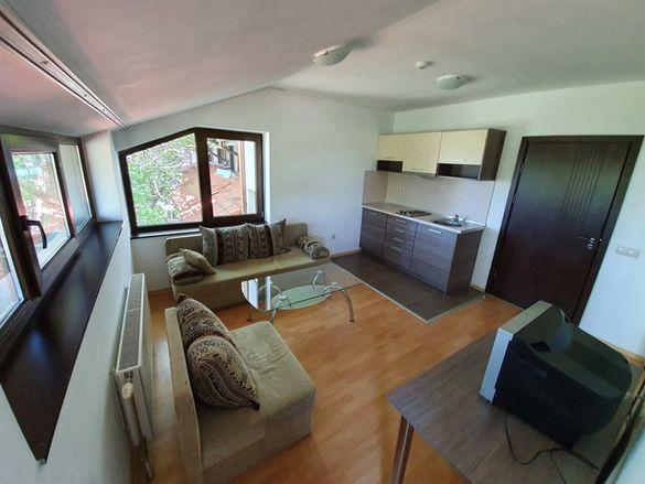 Банско: Двустаен обзаведен апартамент за продажба близо до ски лифта