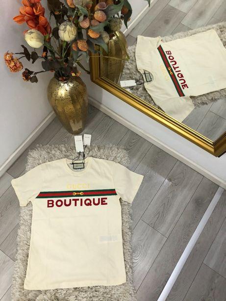 Tricou Gucci PREMIUM alb/negru diferite modele
