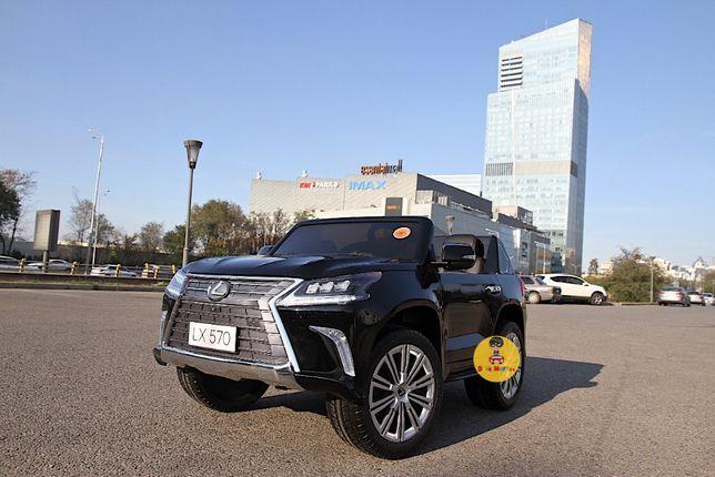 детский электромобиль машина Lexus LX570 доставка бесплатно КЗ +бонусы