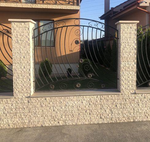 Piatra decorativa si ornamentala gard