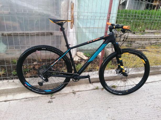 Bicicleta MTB Cube reaction C 62 one full carbon, full XTR, 1x12
