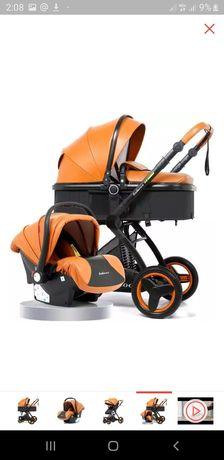 Детская коляска 3 в 1 : люлька, автокресло, коляска