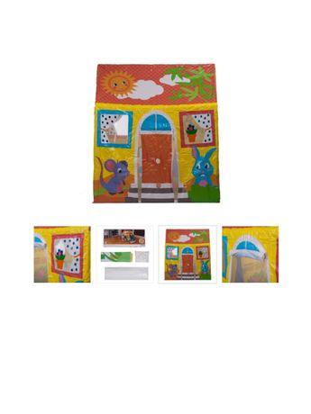 детская палатка Складной дом тент детский Домик для игр Теремок каркас