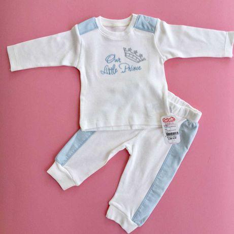 Два костюмчика на малыша, BEBETTO, новые, с этикетками, хлопок.