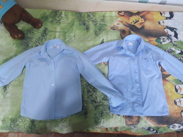 Рубашки в школу на рост 116-120 см
