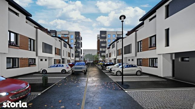 Vila+curte generoasa(90mp), sector 5, rezidential, 117mp/139900euro ,