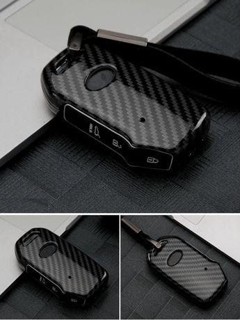 Карбонова кутийка за ключ 3 бутона Kia Sportage Ceed Sorento ProCeed