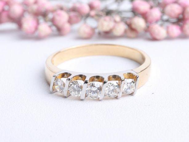Кольцо с бриллиантами , золото 750 Россия, вес 4.00 г. «Ломбард Белый»
