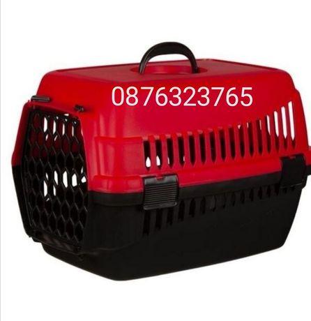 Транспортна чанта клетка  транспортиране на домашни любимци куче кота