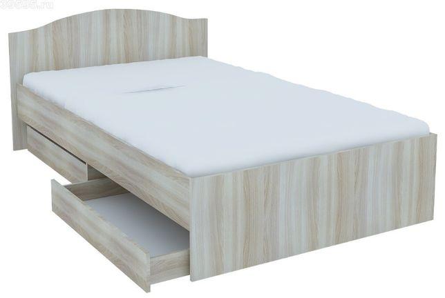 №91 Кровать односпальная, полуторка, двуспальная с выдвижными ящиками