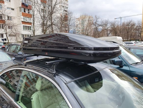 Thule Roof Box под наем / автобокс ски багажник авто бокс Autobox