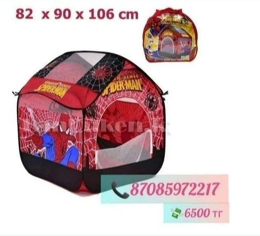 Детская игровая палатка человек паук