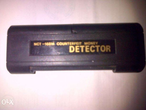 vand detector ntc-168 m,counterfeit money in stare foarte buna,neutil