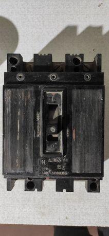 Автоматический выключатель А3163, 3р, 15А