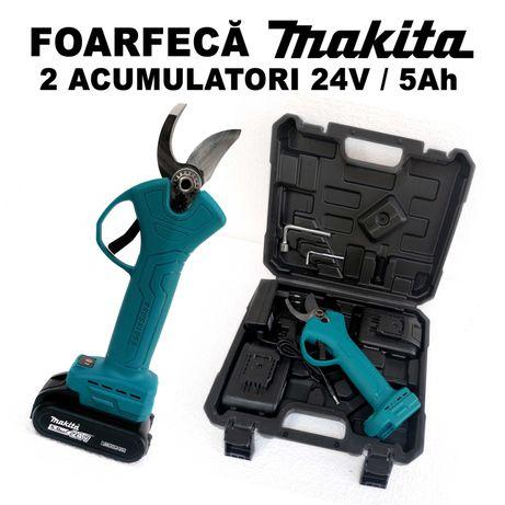 Makita 2 Acumulatori 24V 5Ah Foarfeca Eelectrica pentru crengi si Vie