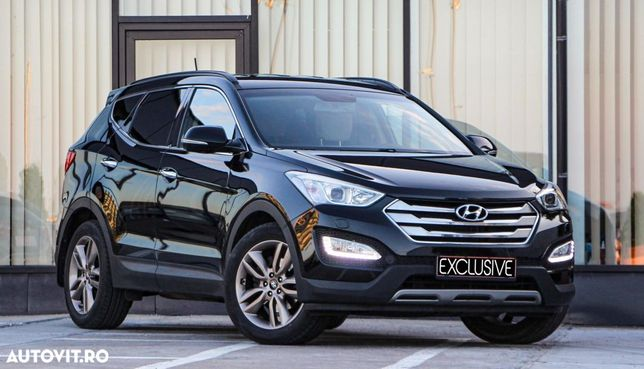 Hyundai Santa Fe Revizie_gratuita_xenon_navigatie_scaune piele incalzite_4x4_197cp_eu5