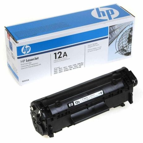 Тонер касета HP Q2612A 12A черна съвместима Black BK за HP LaserJet 10