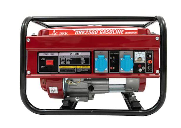 Generator curent electric DRK 2500, 2.2KW, motor 6.5CP pe benzina