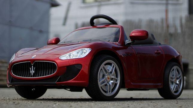 Masinuta electrice pentru copii Maserati Kids 2x 35W 12V NOUA #Rosu